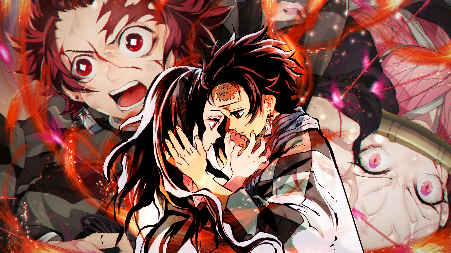 Kimetsu No Yaiba Hd Wallpaper Background Image 1920x1080 Id