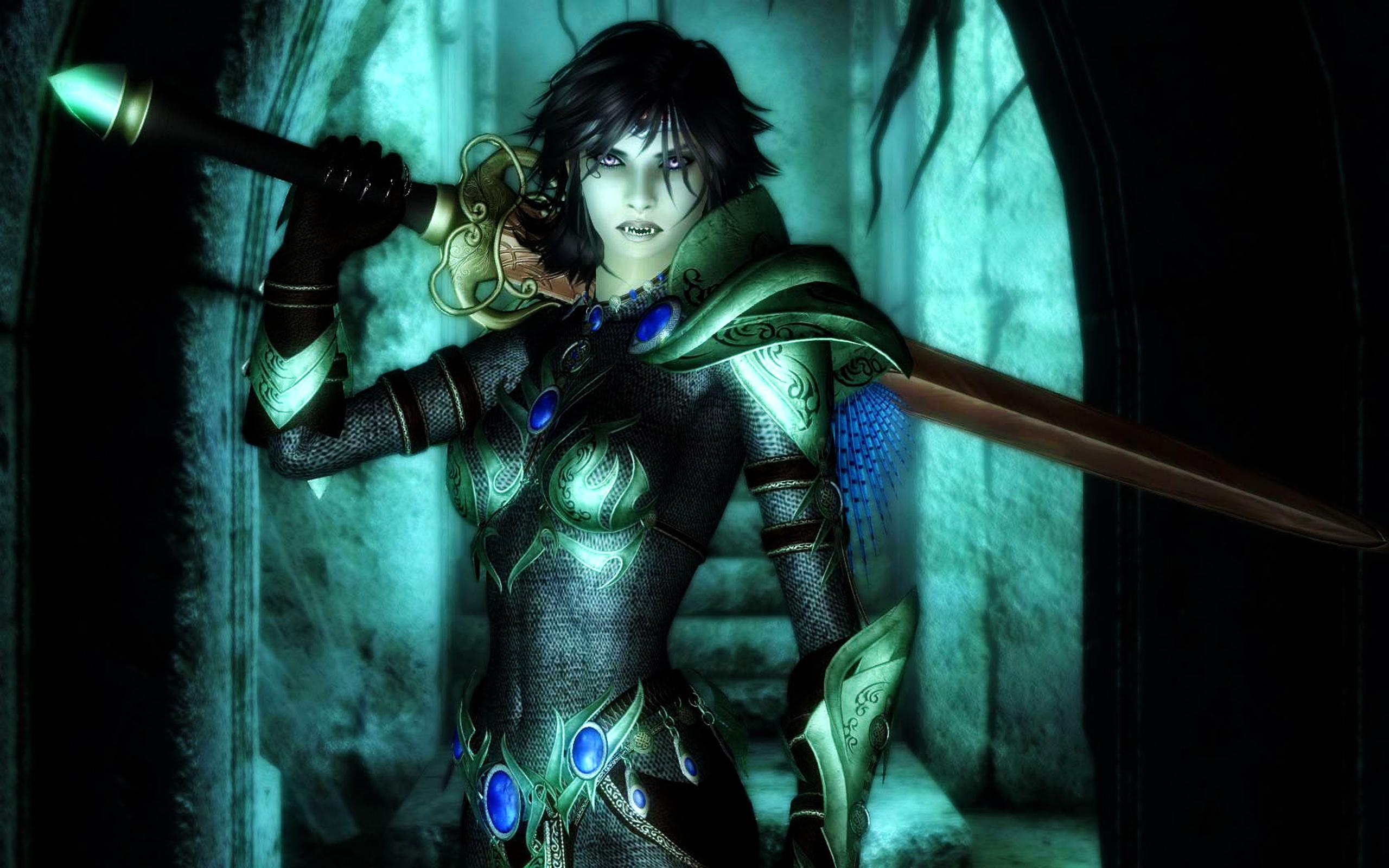 CGI - Vampier  - Armor Achtergrond
