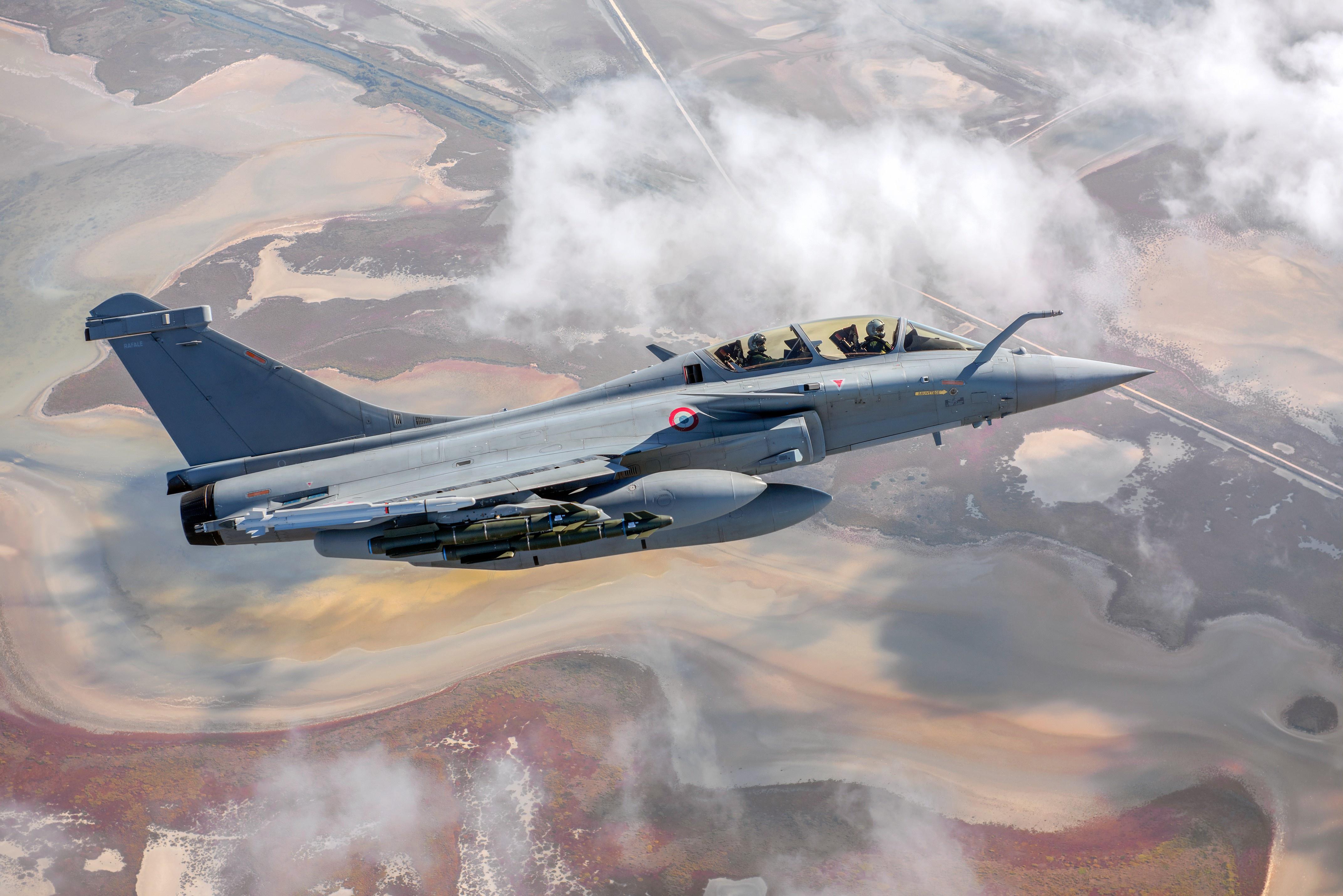 Dassault Rafale B French Air Force 4k Ultra Fondo De