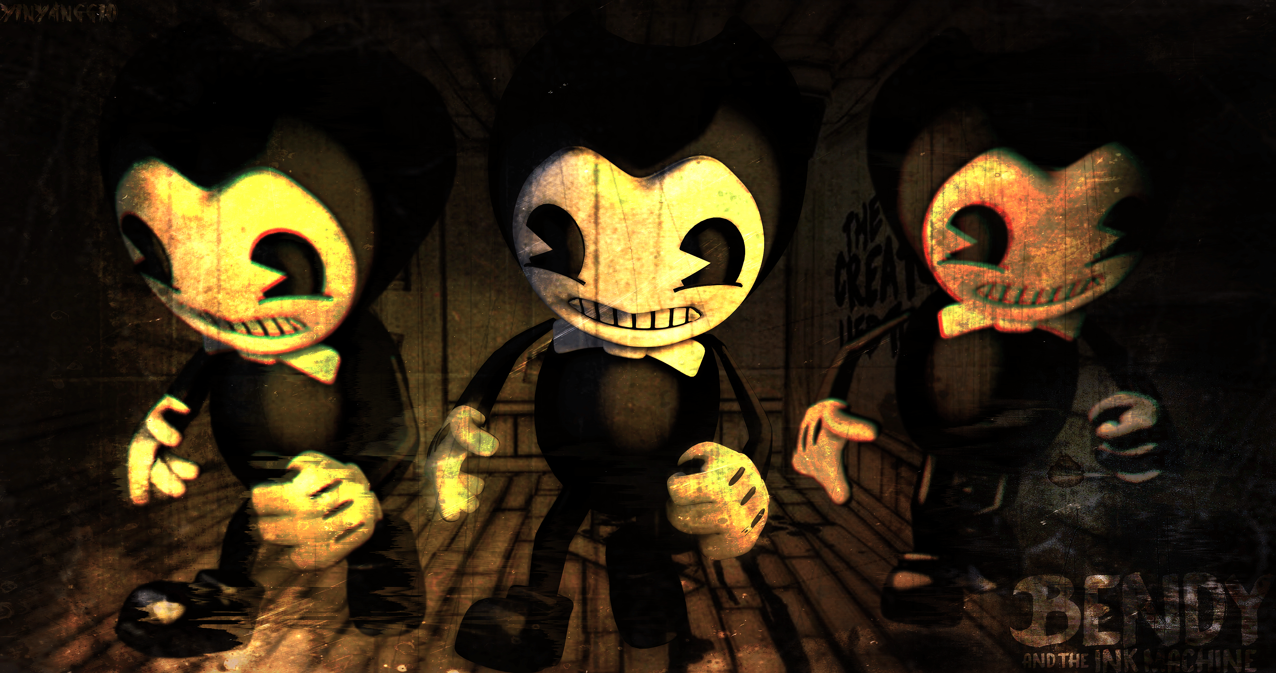 Bendy And The Ink Machine 4k Ultra Hd Wallpaper Background Image