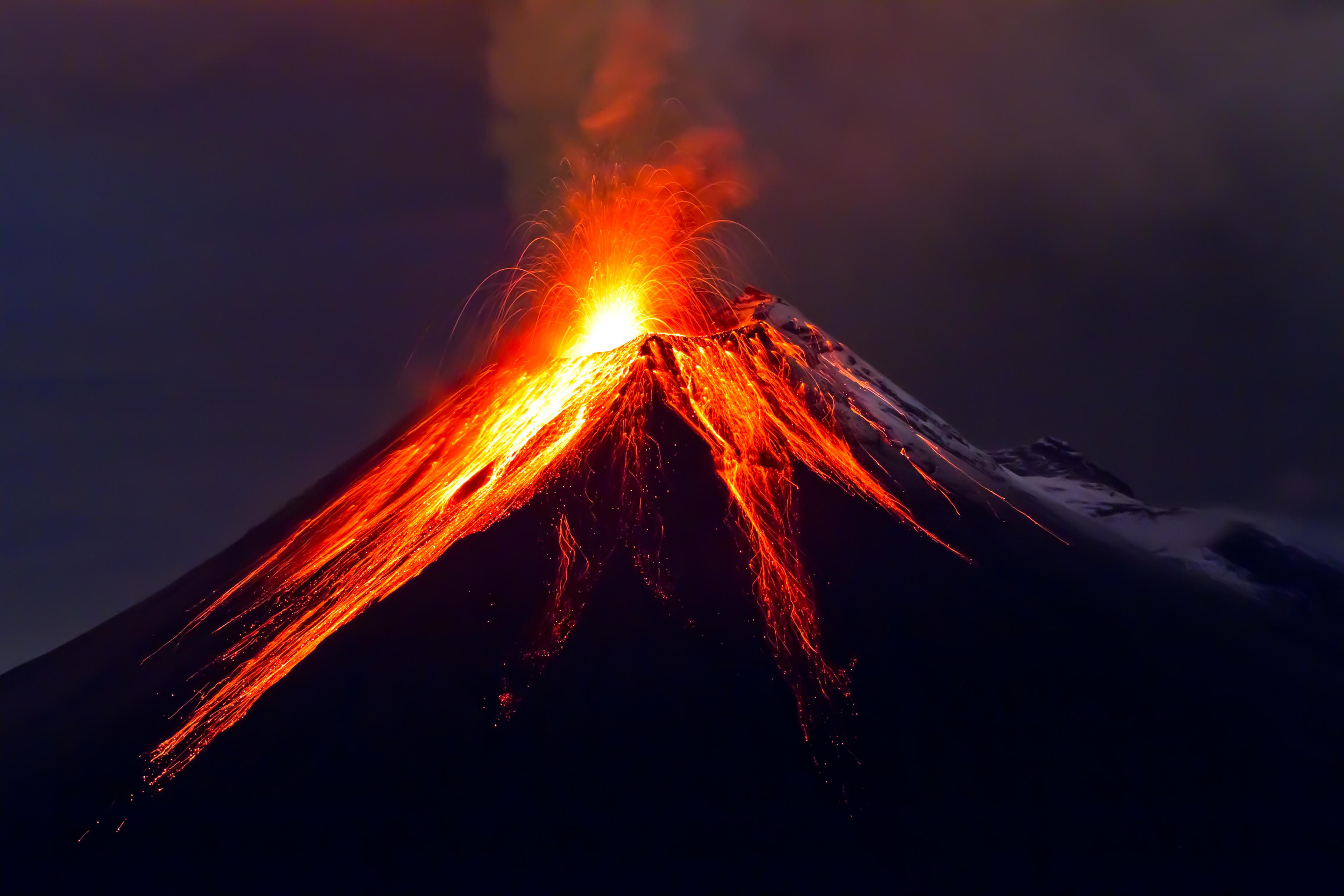 Eruption Vulkan