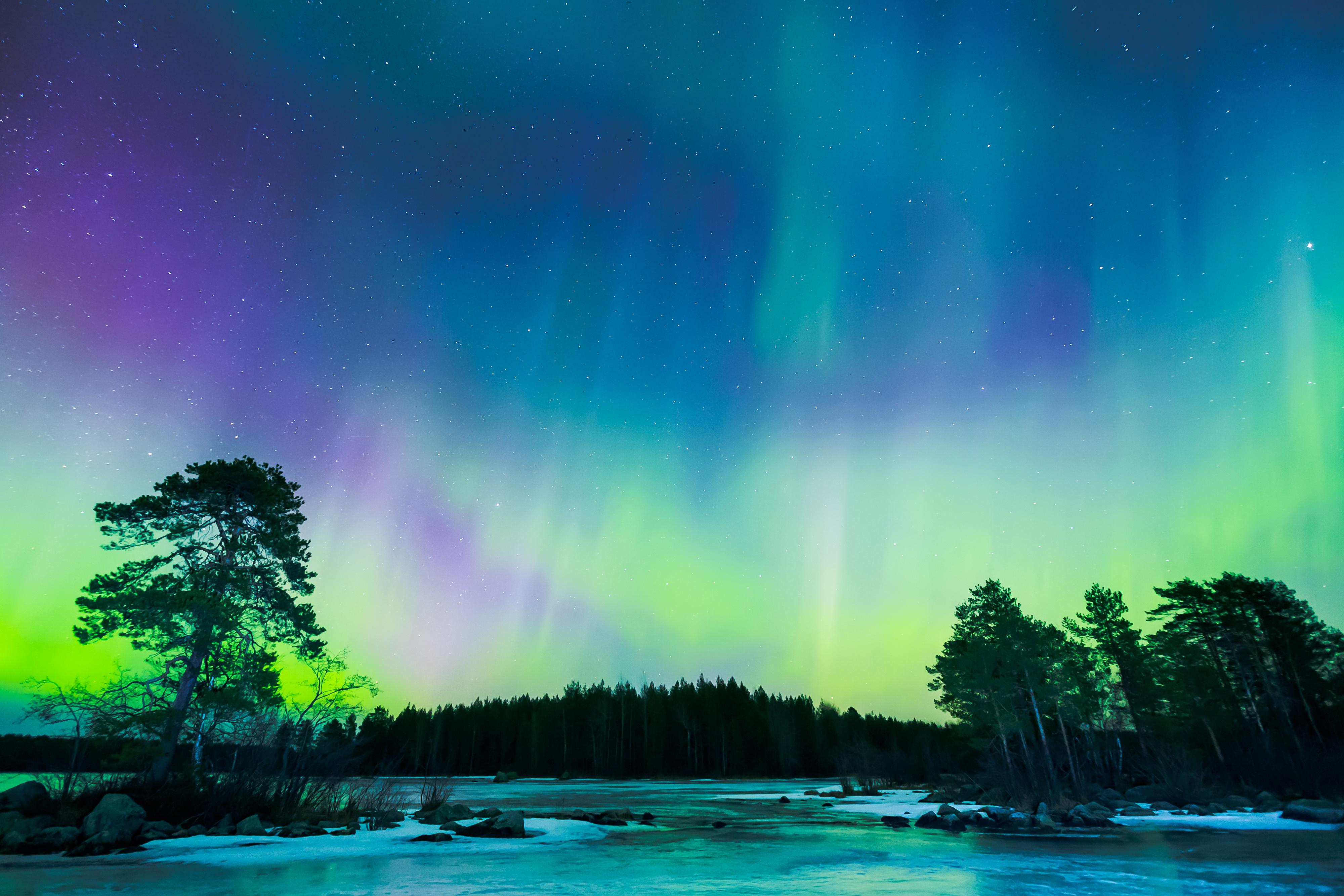Aurora Borealis 4k Ultra HD Wallpaper   Background Image ...