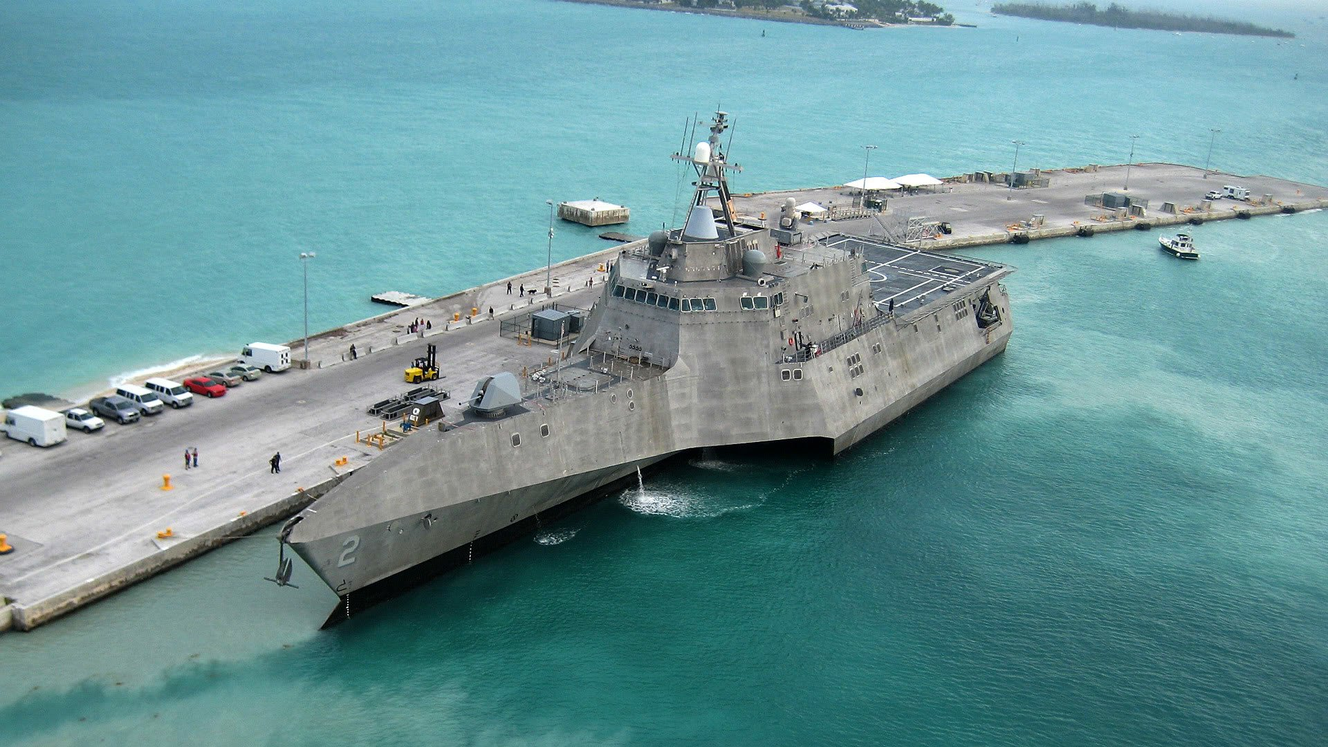 Littoral Combat Ship Uss Independence Lcs 2 Arrives At