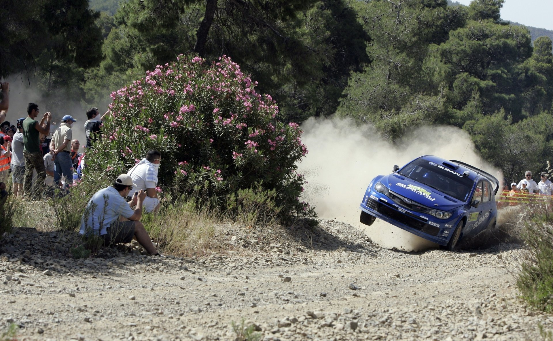 Sports - Racing  Subaru WRC Auto Racing Wallpaper