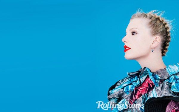 Music Taylor Swift Singers United States American Singer Blonde Lipstick HD Wallpaper | Background Image