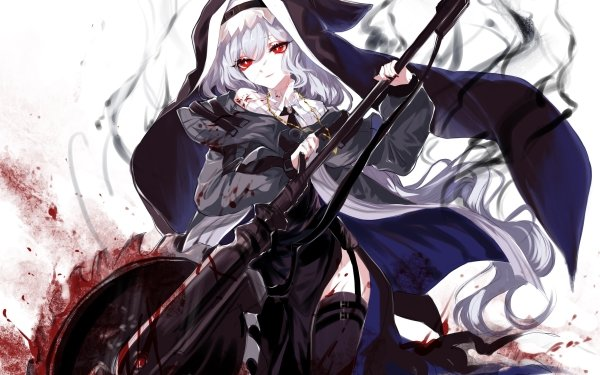 Video Game Arknights Specter Red Eyes HD Wallpaper | Background Image