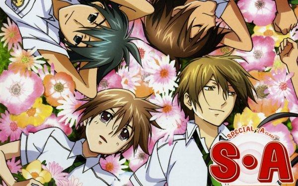 Anime Special A Ryū Tsuji Kei Takishima Jun Yamamoto Tadashi Karino HD Wallpaper   Background Image