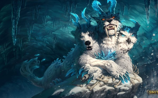 Video Game Smite Cerberus HD Wallpaper   Background Image