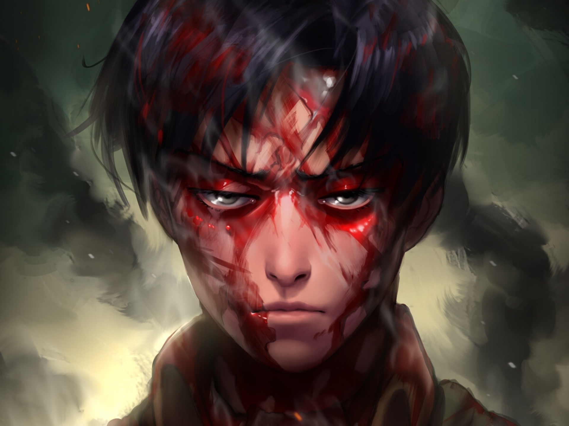 Attack On Titan Hd Wallpaper Background Image 1920x1440 Id 1050159 Wallpaper Abyss