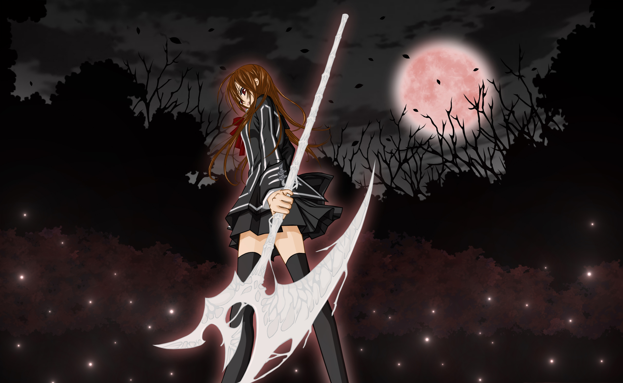 Vampire knight hd wallpaper background image 2558x1574 - Vampire knight anime wallpaper ...