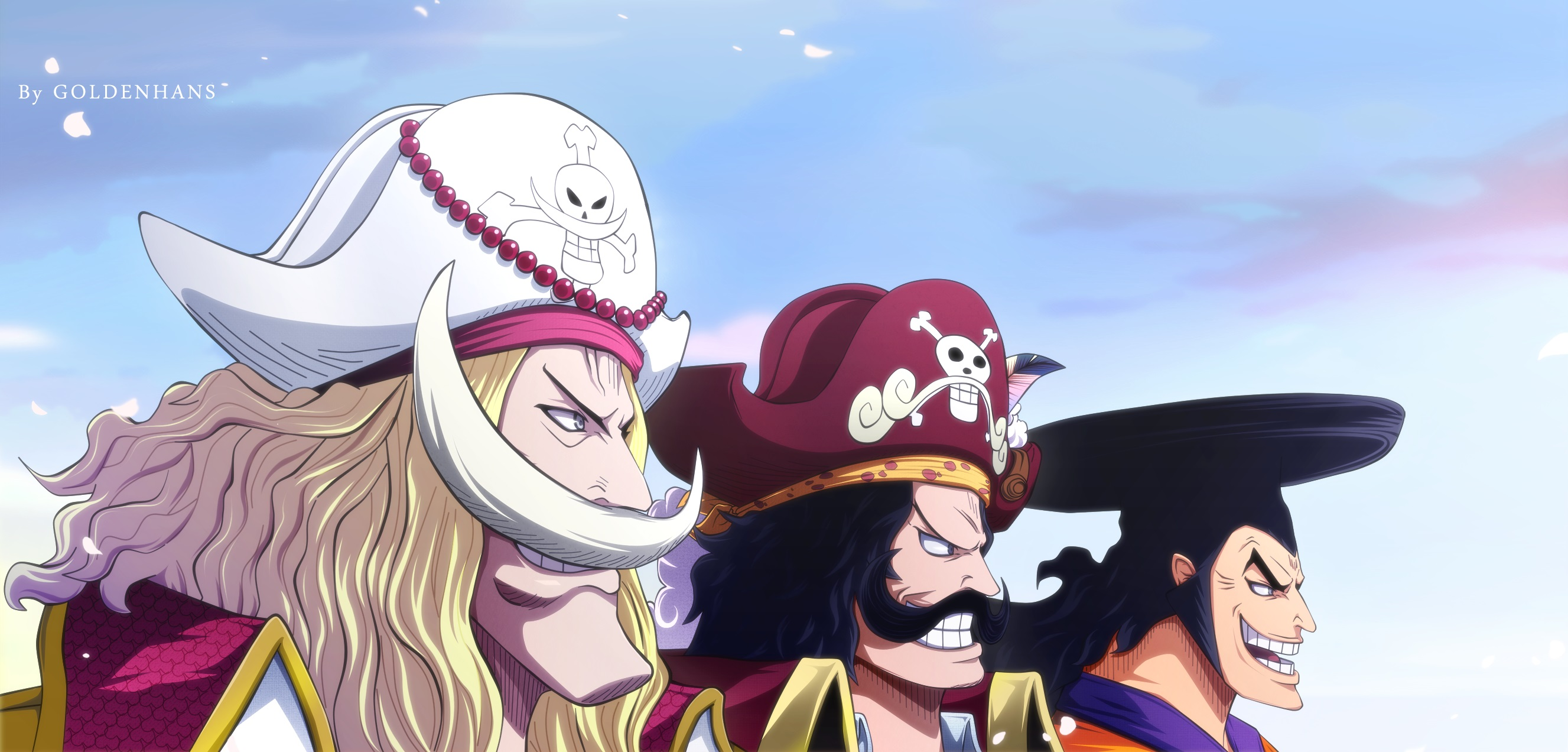 One Piece HD Wallpaper | Background Image | 2654x1272 | ID ...