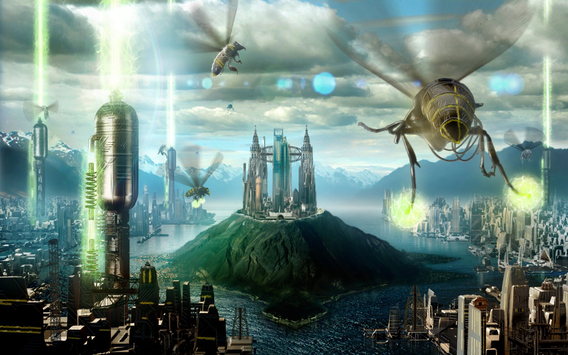 Sci Fi - City  Sci Fi Wallpaper
