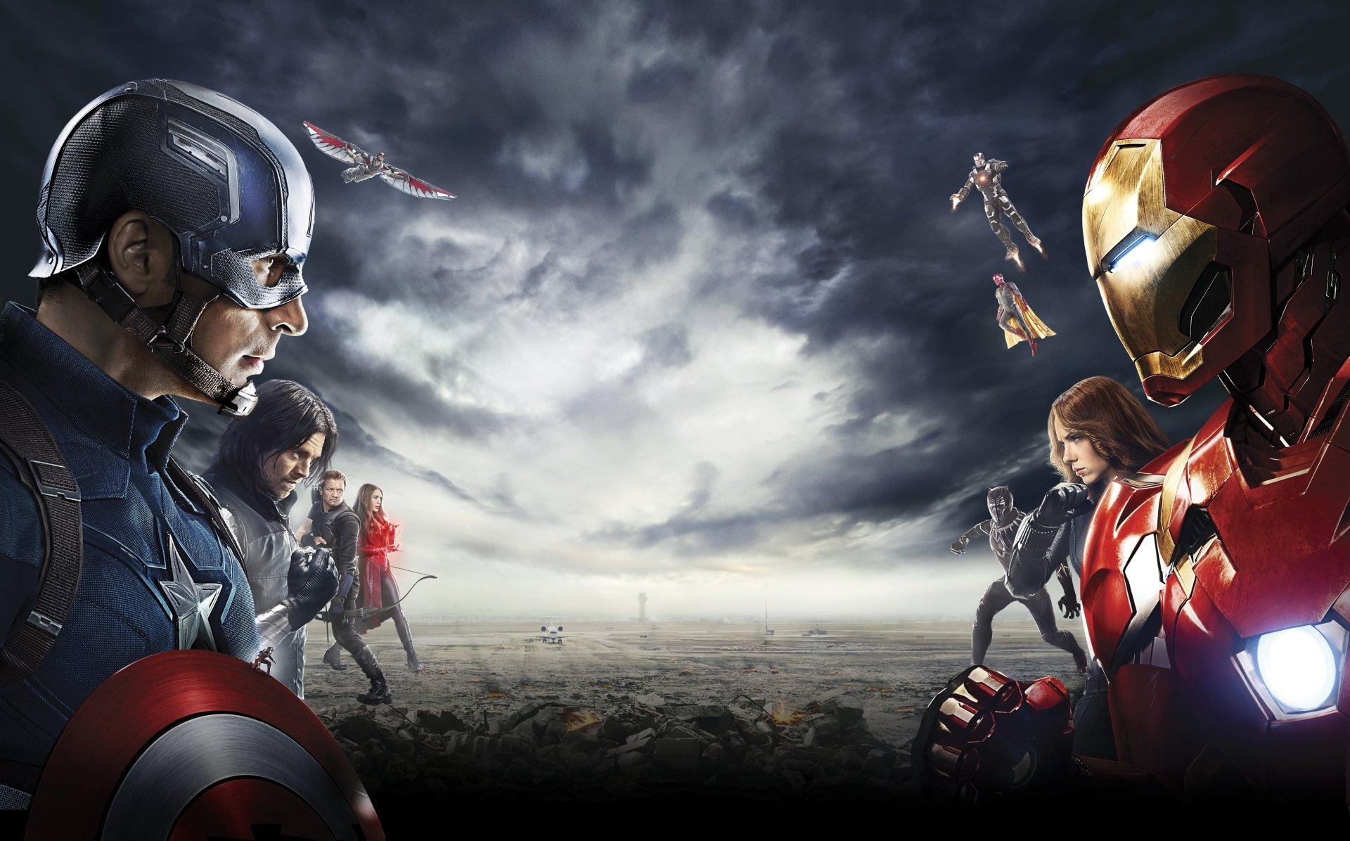 Capitán América Civil War 5k Retina Ultra Fondo De Pantalla