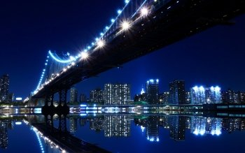 Man Made - Manhattan Bridge Wallpapers and Backgrounds ID : 105841
