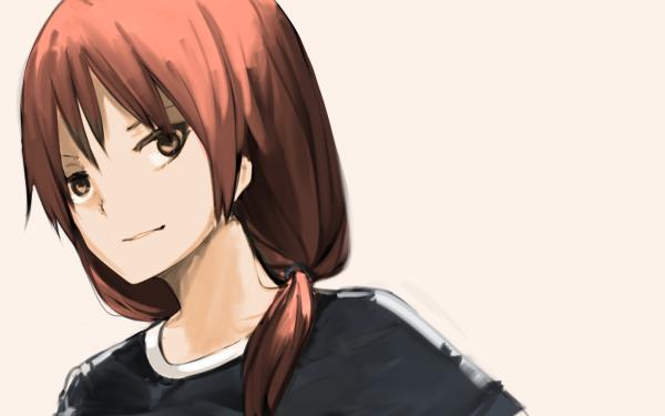 Anime Aho Girl Yoshie Hanabatake HD Wallpaper | Background Image