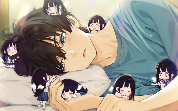 Anime Hyouka Eru Chitanda Hōtarō Oreki HD Wallpaper   Background Image