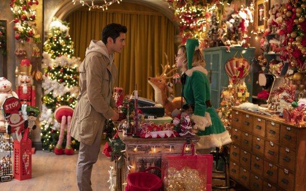 Movie Last Christmas Emilia Clarke Henry Golding HD Wallpaper   Background Image