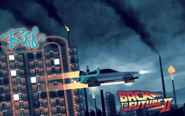 Movie Back to the Future Part II Back To The Future Car DeLorean HD Wallpaper | Background Image