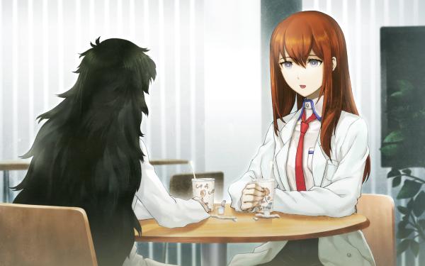 Anime Steins;Gate 0 Kurisu Makise Maho Hiyajo HD Wallpaper | Background Image