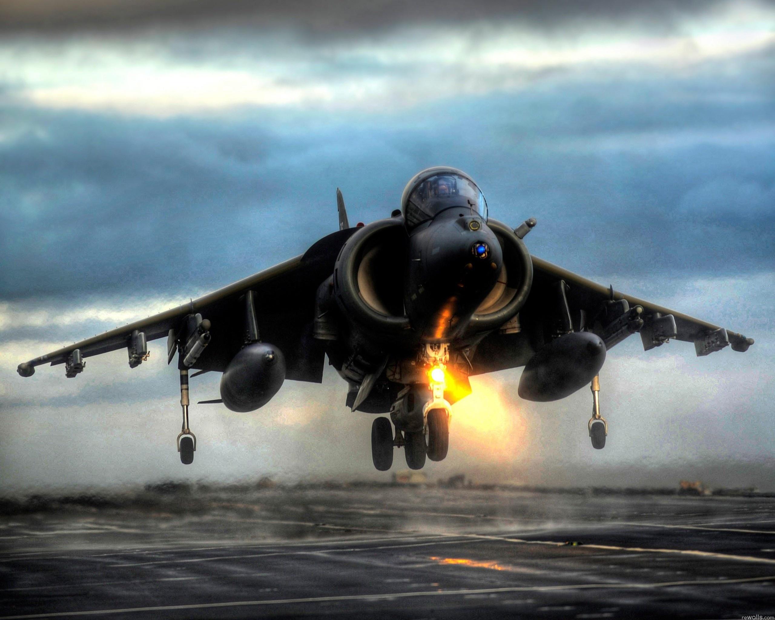 harrier vertical takeoff hd wallpaper background image 2560x2048