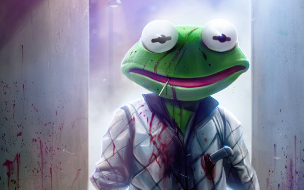 Movie Drive (2011) Frog Drive Kermit the Frog HD Wallpaper | Background Image
