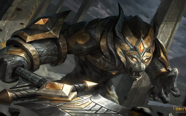Video Game Smite Anhur HD Wallpaper   Background Image