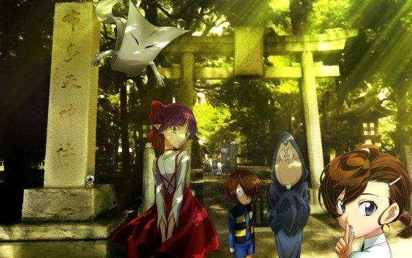 Anime GeGeGe no Kitaro Momen Ittan Mana Inuyama Kitarō Konaki-jijii Medama-oyaji Neko Musume Nezumi Otoko Nurikabe Sunakake-baba Fondo de pantalla HD | Fondo de Escritorio
