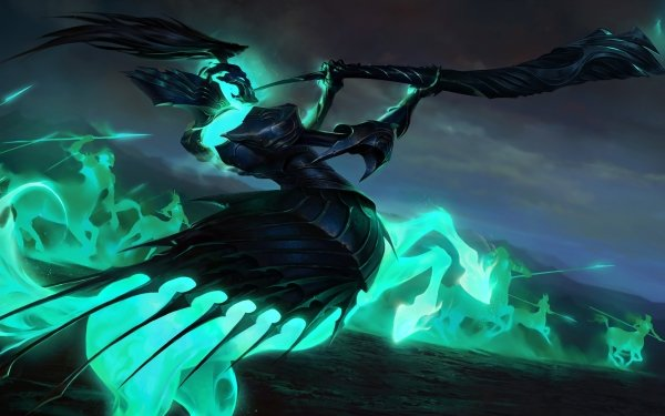 Video Game Legends of Runeterra Creature HD Wallpaper   Background Image