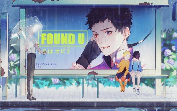 Anime Naruto Naruto Uzumaki Sasuke Uchiha Kakashi Hatake Obito Uchiha HD Wallpaper | Hintergrund