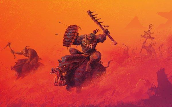 Video Game Total War: Warhammer Total War Orc Warrior HD Wallpaper | Background Image