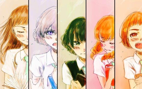 Anime Maidens of the Savage Season Niina Sugawara Kazusa Onodera Hitoha Hongō Rika Sonezaki Momoko Sudō HD Wallpaper | Background Image
