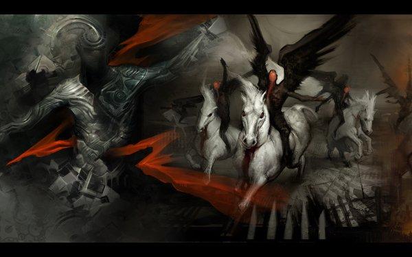 Dark Angel Demon Apocalyptic HD Wallpaper   Background Image