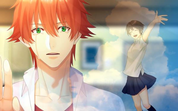 Anime The Girl Who Leapt Through Time Makoto Konno Chiaki Mamiya HD Wallpaper | Background Image