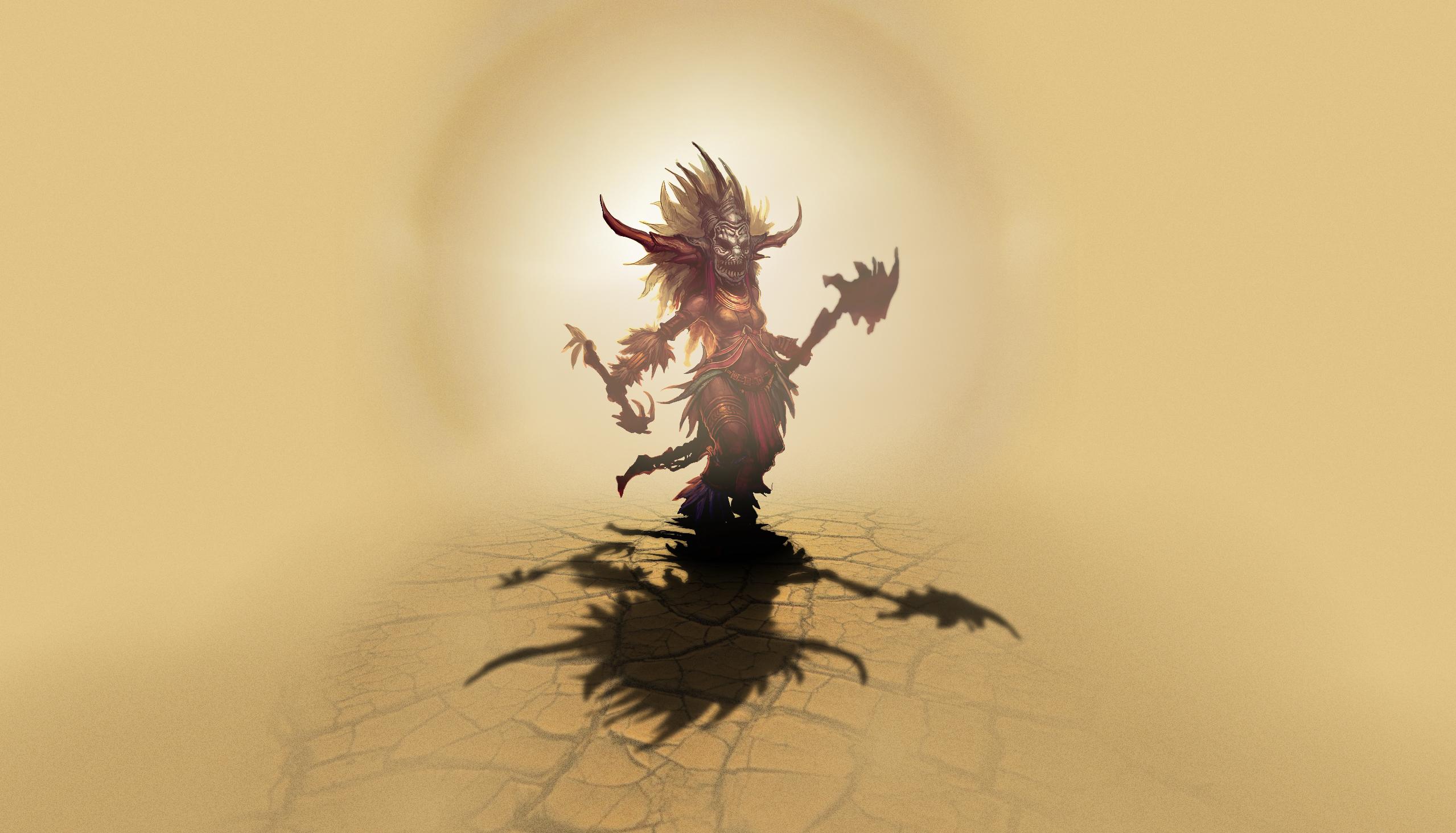 Video Game - Diablo III  Witch Doctor (Diablo III) Wallpaper