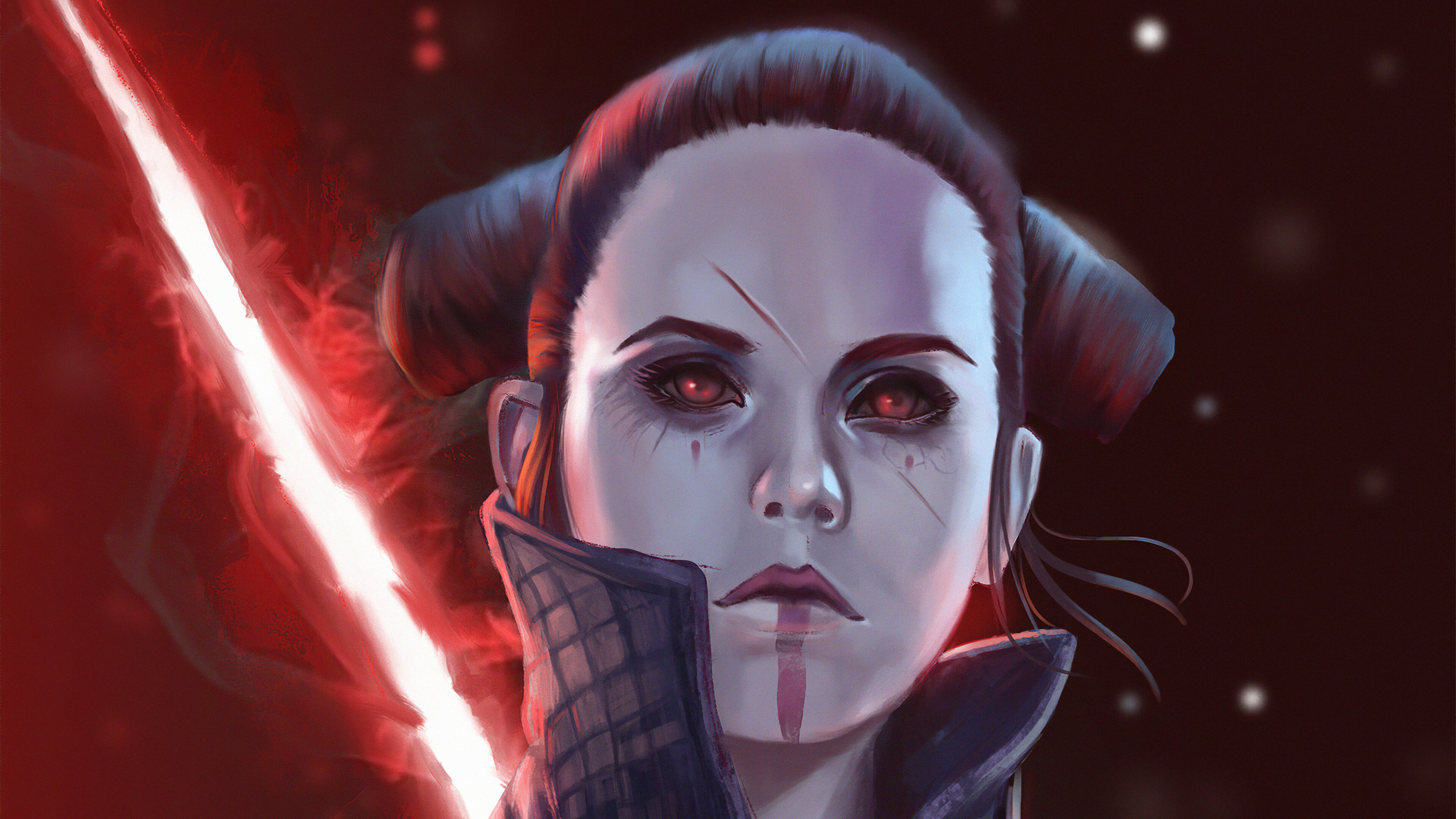 Darth Rey 4k Ultra Hd Wallpaper Background Image 3840x2160 Id 1074177 Wallpaper Abyss