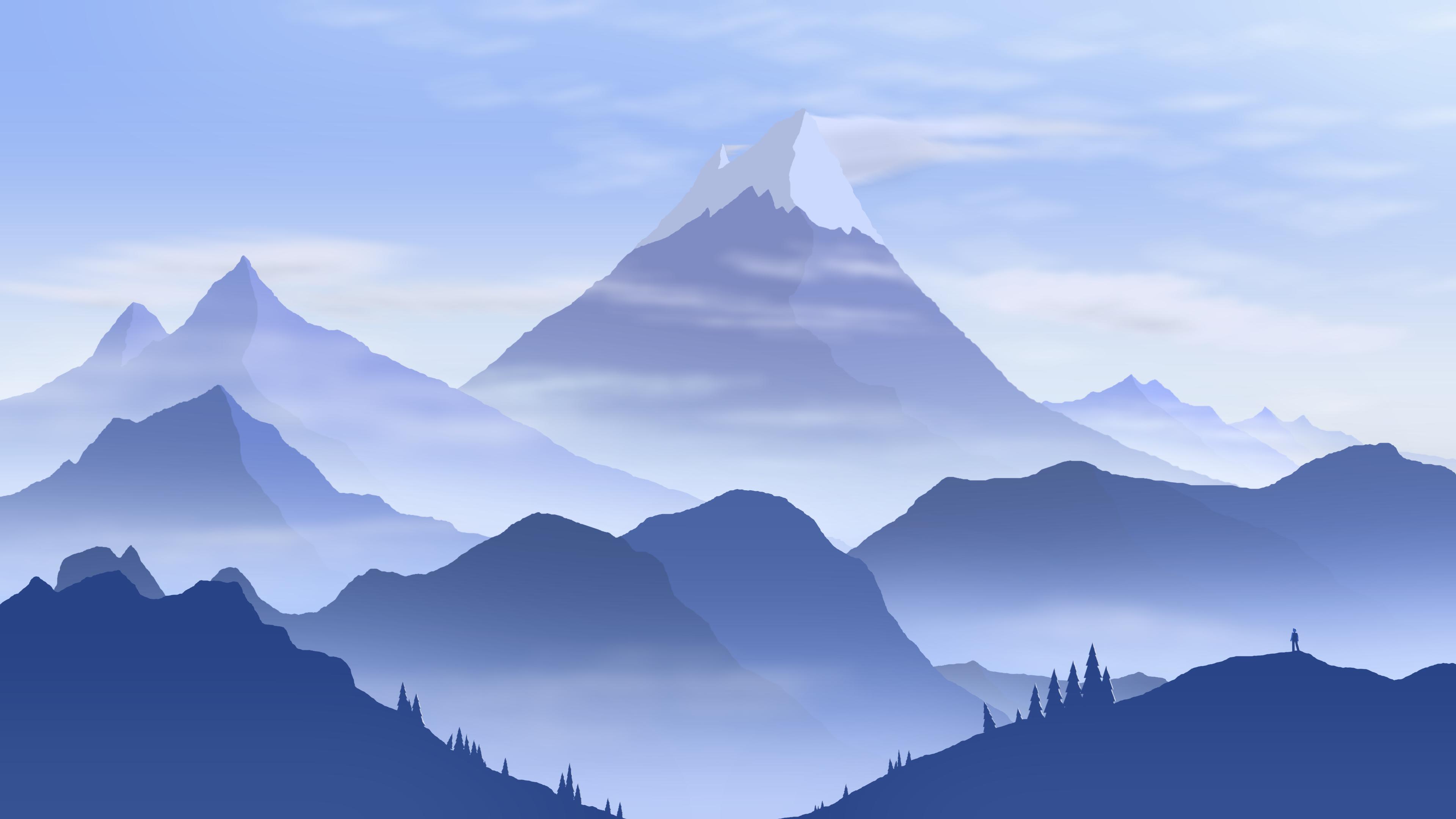 Mountain Wilderness 4k Ultra Hd Wallpaper Background Image 3840x2160 Id 1074975 Wallpaper Abyss