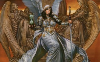 Fantasie - Angel Warrior Wallpapers and Backgrounds ID : 107001