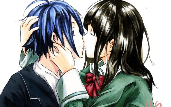 Anime Bakuman Moritaka Mashiro Miho Azuki HD Wallpaper | Background Image