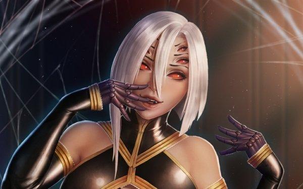 Anime Monster Musume Rachnera Arachnera HD Wallpaper | Background Image