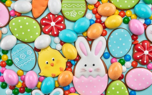 Food Cookie Easter HD Wallpaper | Background Image