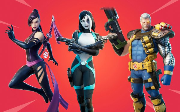 Video Game Fortnite Cable Domino Psylocke HD Wallpaper | Background Image