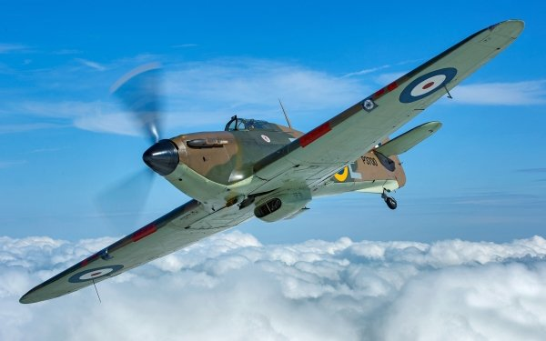 Military Hawker Hurricane Military Aircraft Aircraft Warplane HD Wallpaper | Background Image