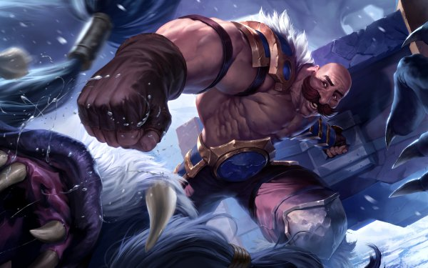 Video Game Legends of Runeterra Braum Freljord HD Wallpaper   Background Image