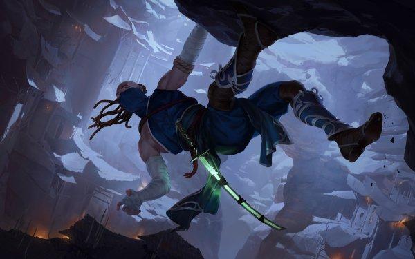 Video Game Legends of Runeterra Ninja HD Wallpaper   Background Image