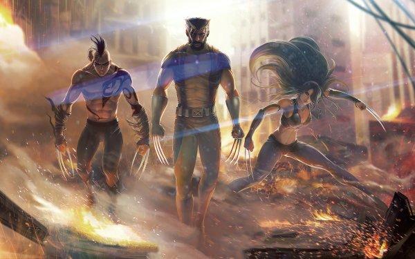 Comics Wolverine X-Men X-23 Marvel Comics Daken HD Wallpaper | Background Image