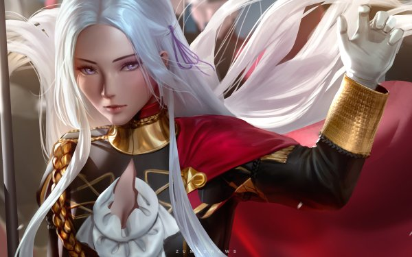 Video Game Fire Emblem: Three Houses Edelgard HD Wallpaper   Background Image