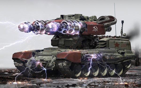 Military Tank Tanks Futuristic HD Wallpaper | Background Image