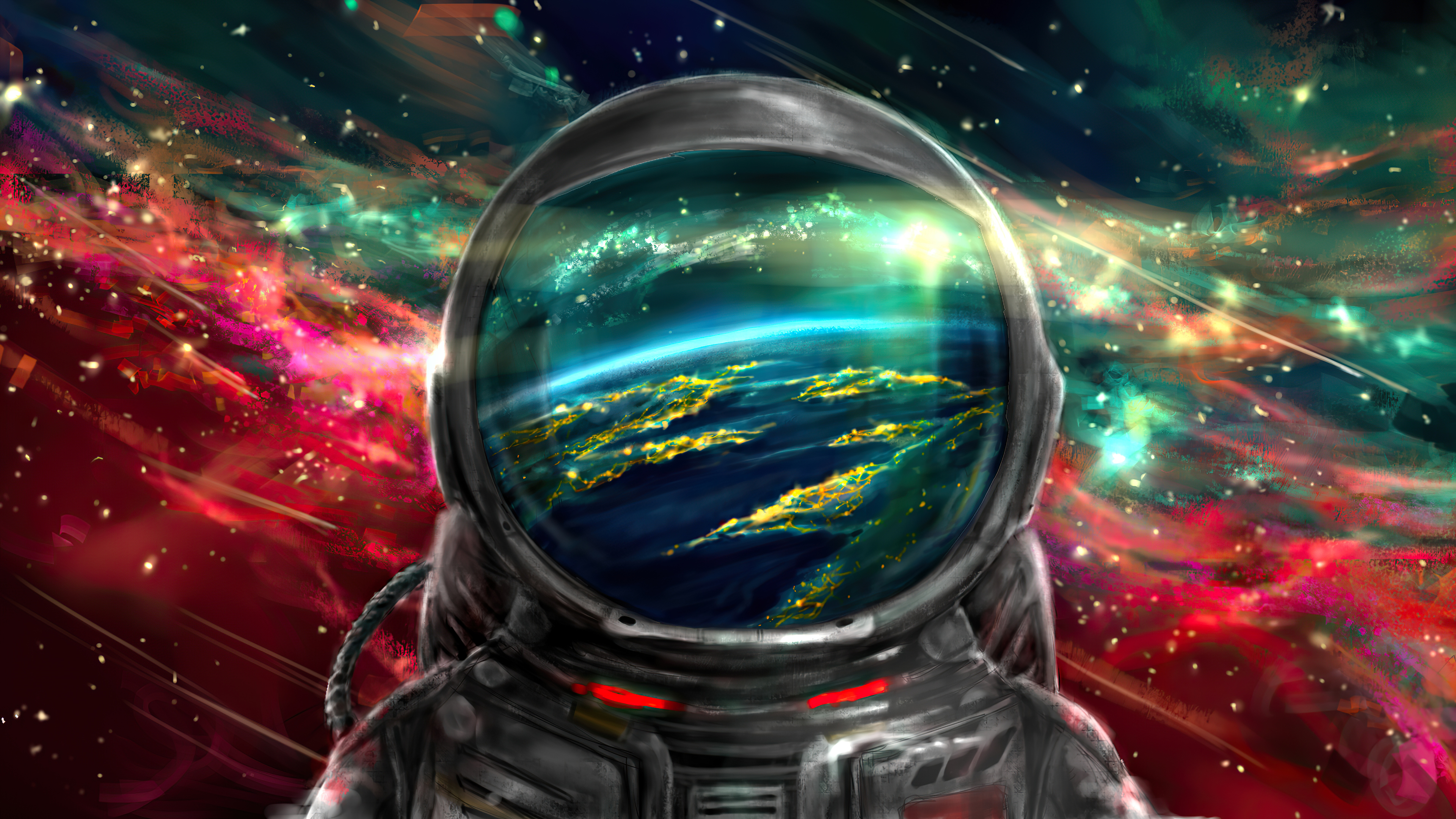 Astronaut 4k Ultra Hd Wallpaper Background Image 3840x2160 Id 1080246 Wallpaper Abyss