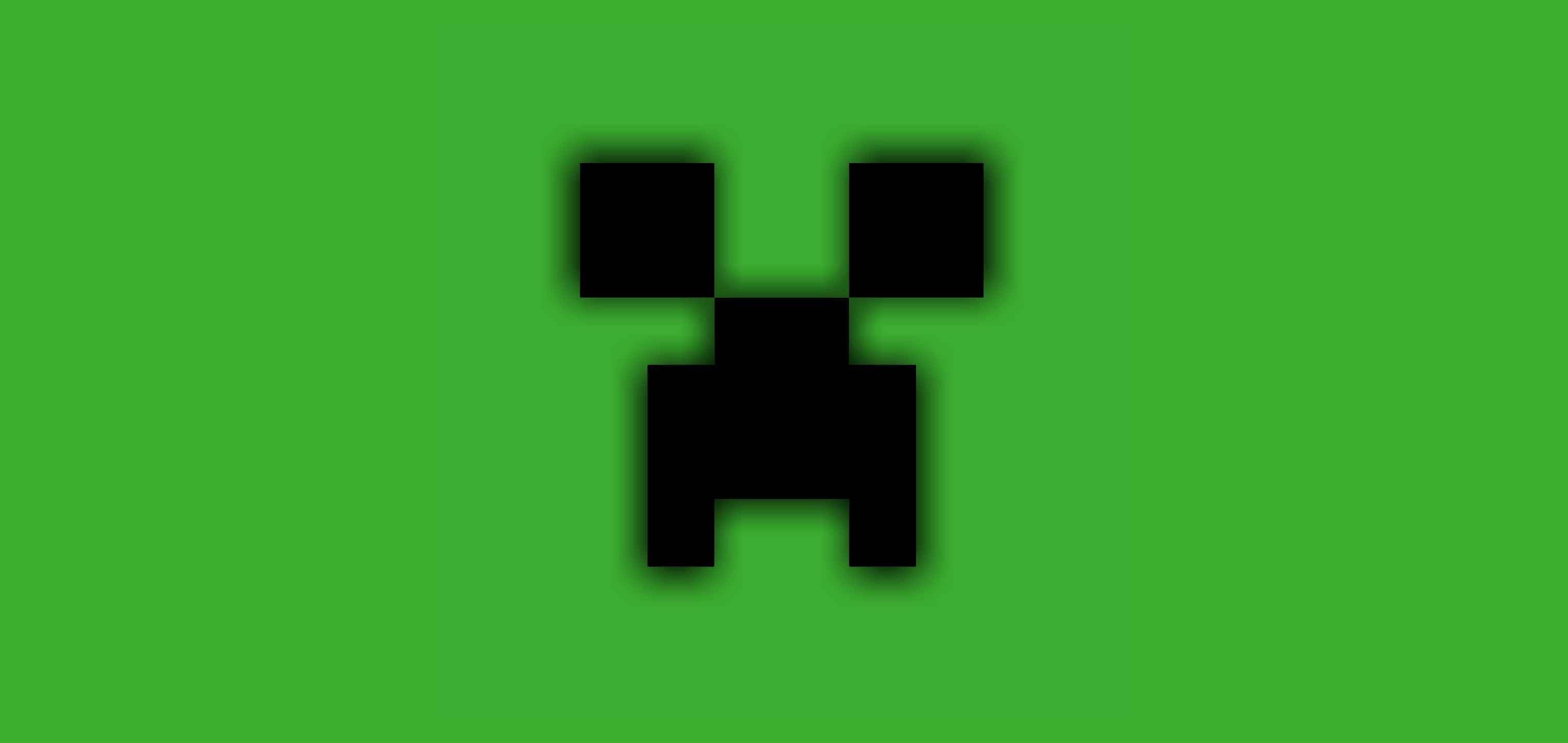 Minecraft Creeper Green Background HD