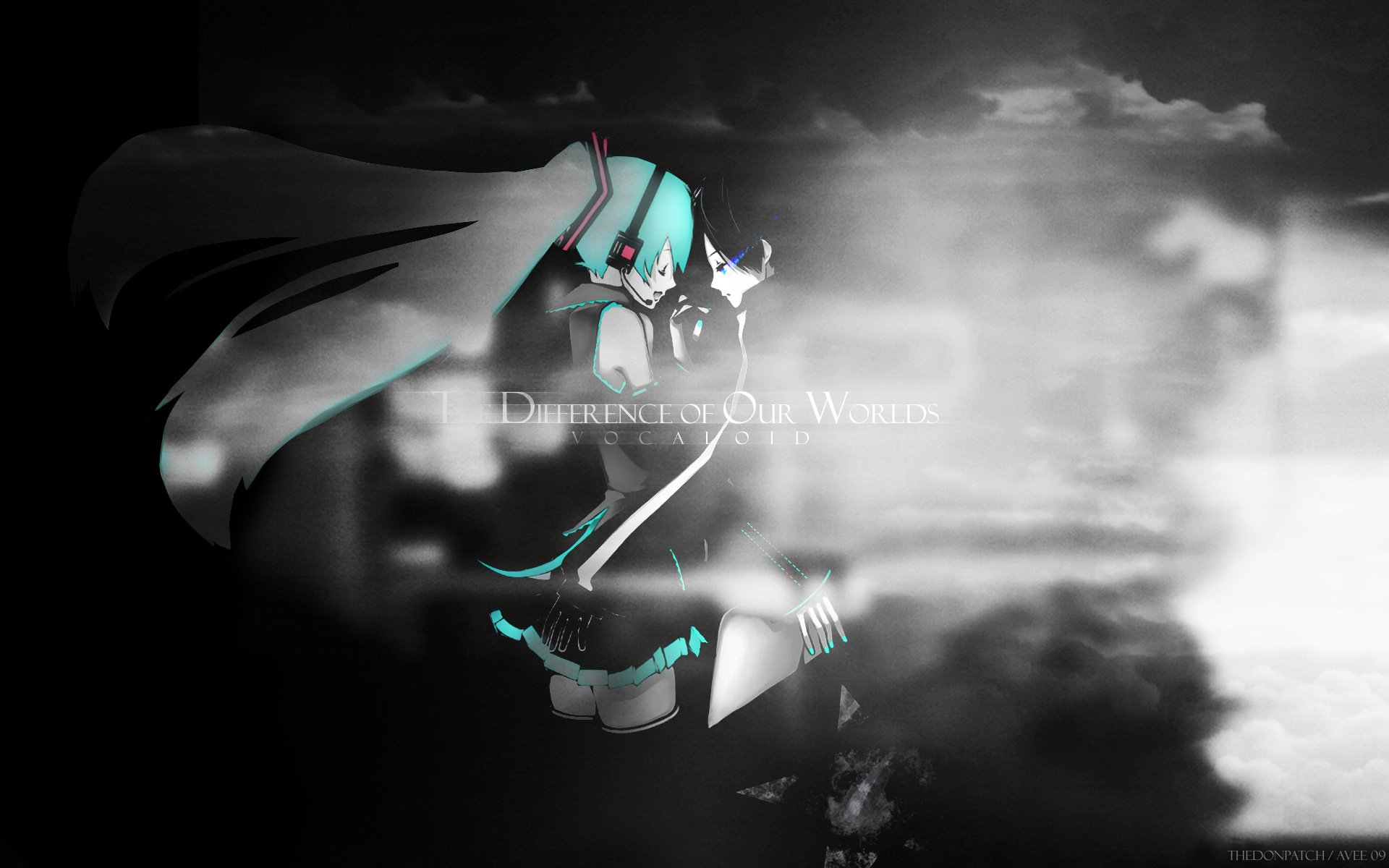 Anime - Black Rock Shooter  Vocaloid Hatsune Miku Wallpaper